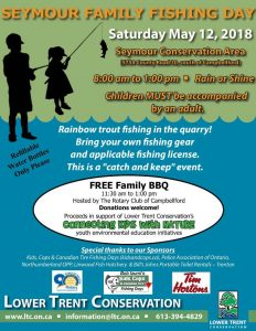 "Seymour Family Fishing Day: ""Connecting Kids with Nature"" 